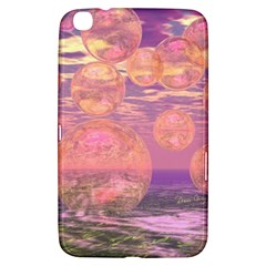 Glorious Skies, Abstract Pink And Yellow Dream Samsung Galaxy Tab 3 (8 ) T3100 Hardshell Case