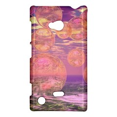 Glorious Skies, Abstract Pink And Yellow Dream Nokia Lumia 720 Hardshell Case