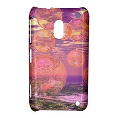 Glorious Skies, Abstract Pink And Yellow Dream Nokia Lumia 620 Hardshell Case