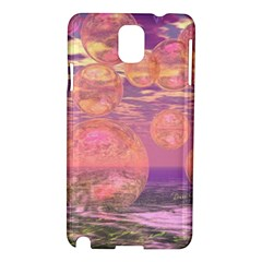 Glorious Skies, Abstract Pink And Yellow Dream Samsung Galaxy Note 3 N9005 Hardshell Case