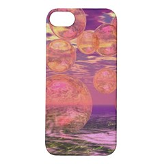 Glorious Skies, Abstract Pink And Yellow Dream Apple iPhone 5S Hardshell Case