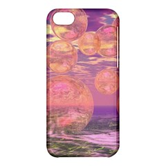 Glorious Skies, Abstract Pink And Yellow Dream Apple Iphone 5c Hardshell Case
