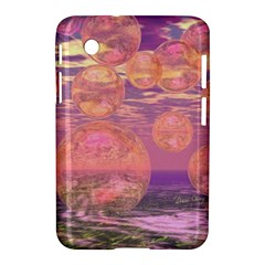 Glorious Skies, Abstract Pink And Yellow Dream Samsung Galaxy Tab 2 (7 ) P3100 Hardshell Case