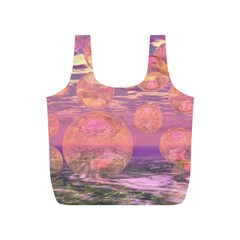 Glorious Skies, Abstract Pink And Yellow Dream Reusable Bag (s)