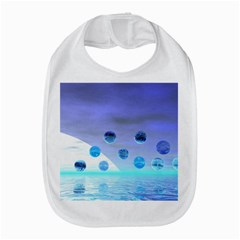 Moonlight Wonder, Abstract Journey To The Unknown Bib