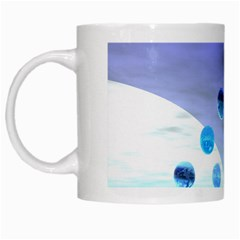 Moonlight Wonder, Abstract Journey To The Unknown White Coffee Mug