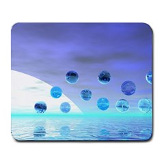 Moonlight Wonder, Abstract Journey To The Unknown Large Mouse Pad (Rectangle)