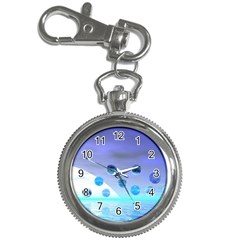 Moonlight Wonder, Abstract Journey To The Unknown Key Chain Watch