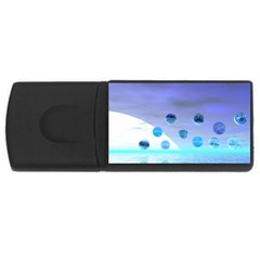 Moonlight Wonder, Abstract Journey To The Unknown 2GB USB Flash Drive (Rectangle)
