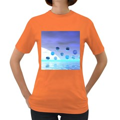 Moonlight Wonder, Abstract Journey To The Unknown Women s T-shirt (Colored)