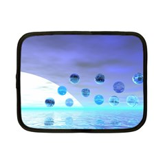 Moonlight Wonder, Abstract Journey To The Unknown Netbook Sleeve (small)