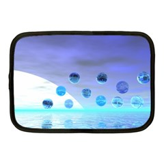 Moonlight Wonder, Abstract Journey To The Unknown Netbook Sleeve (medium)