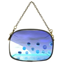 Moonlight Wonder, Abstract Journey To The Unknown Chain Purse (One Side)