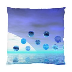 Moonlight Wonder, Abstract Journey To The Unknown Cushion Case (Single Sided)