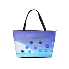 Moonlight Wonder, Abstract Journey To The Unknown Large Shoulder Bag