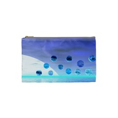 Moonlight Wonder, Abstract Journey To The Unknown Cosmetic Bag (small)