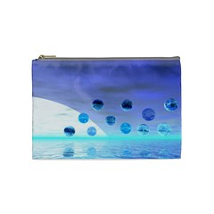 Moonlight Wonder, Abstract Journey To The Unknown Cosmetic Bag (medium)