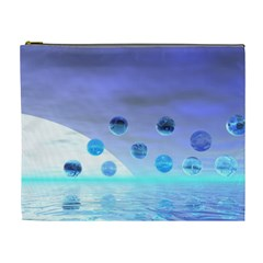 Moonlight Wonder, Abstract Journey To The Unknown Cosmetic Bag (XL)