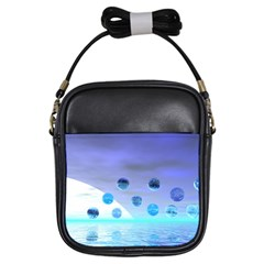 Moonlight Wonder, Abstract Journey To The Unknown Girl s Sling Bag