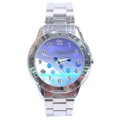 Moonlight Wonder, Abstract Journey To The Unknown Stainless Steel Watch