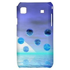 Moonlight Wonder, Abstract Journey To The Unknown Samsung Galaxy S i9000 Hardshell Case