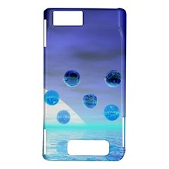 Moonlight Wonder, Abstract Journey To The Unknown Motorola Droid X / X2 Hardshell Case
