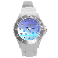 Moonlight Wonder, Abstract Journey To The Unknown Plastic Sport Watch (Large)