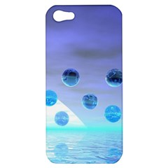 Moonlight Wonder, Abstract Journey To The Unknown Apple iPhone 5 Hardshell Case