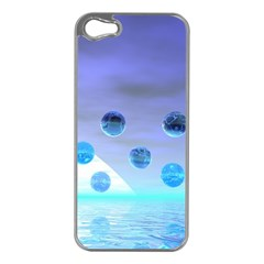 Moonlight Wonder, Abstract Journey To The Unknown Apple Iphone 5 Case (silver)