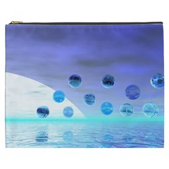 Moonlight Wonder, Abstract Journey To The Unknown Cosmetic Bag (xxxl)