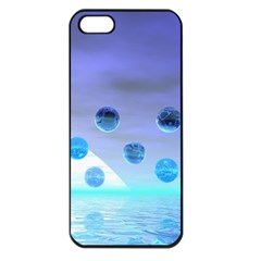 Moonlight Wonder, Abstract Journey To The Unknown Apple Iphone 5 Seamless Case (black)