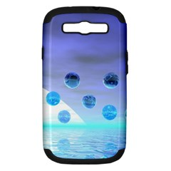 Moonlight Wonder, Abstract Journey To The Unknown Samsung Galaxy S III Hardshell Case (PC+Silicone)