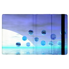 Moonlight Wonder, Abstract Journey To The Unknown Apple iPad 3/4 Flip Case