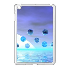 Moonlight Wonder, Abstract Journey To The Unknown Apple iPad Mini Case (White)