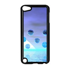 Moonlight Wonder, Abstract Journey To The Unknown Apple iPod Touch 5 Case (Black)