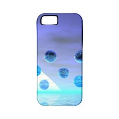 Moonlight Wonder, Abstract Journey To The Unknown Apple Iphone 5 Classic Hardshell Case (pc+silicone)