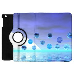 Moonlight Wonder, Abstract Journey To The Unknown Apple iPad Mini Flip 360 Case