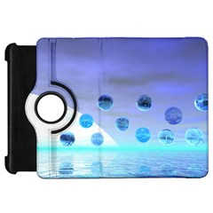 Moonlight Wonder, Abstract Journey To The Unknown Kindle Fire HD 7  (1st Gen) Flip 360 Case