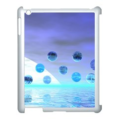 Moonlight Wonder, Abstract Journey To The Unknown Apple Ipad 3/4 Case (white)
