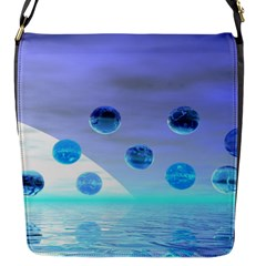 Moonlight Wonder, Abstract Journey To The Unknown Flap Closure Messenger Bag (Small)