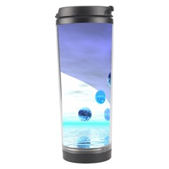 Moonlight Wonder, Abstract Journey To The Unknown Travel Tumbler