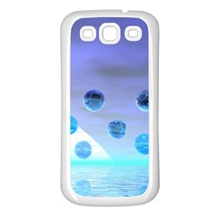 Moonlight Wonder, Abstract Journey To The Unknown Samsung Galaxy S3 Back Case (White)