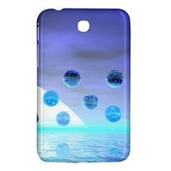 Moonlight Wonder, Abstract Journey To The Unknown Samsung Galaxy Tab 3 (7 ) P3200 Hardshell Case
