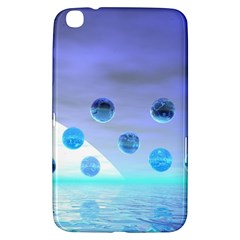 Moonlight Wonder, Abstract Journey To The Unknown Samsung Galaxy Tab 3 (8 ) T3100 Hardshell Case