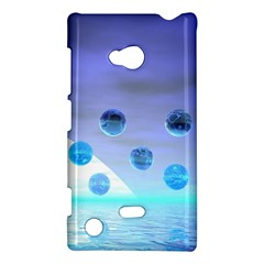 Moonlight Wonder, Abstract Journey To The Unknown Nokia Lumia 720 Hardshell Case