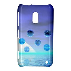 Moonlight Wonder, Abstract Journey To The Unknown Nokia Lumia 620 Hardshell Case