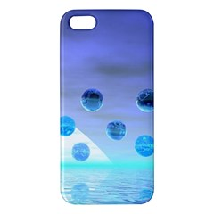Moonlight Wonder, Abstract Journey To The Unknown iPhone 5S Premium Hardshell Case