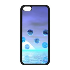 Moonlight Wonder, Abstract Journey To The Unknown Apple iPhone 5C Seamless Case (Black)