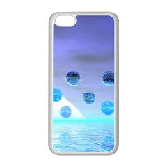 Moonlight Wonder, Abstract Journey To The Unknown Apple Iphone 5c Seamless Case (white)