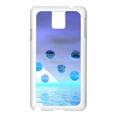 Moonlight Wonder, Abstract Journey To The Unknown Samsung Galaxy Note 3 N9005 Case (White)